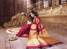 kanchipuram silk sarees for wedding
