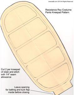 Kneepad Pattern