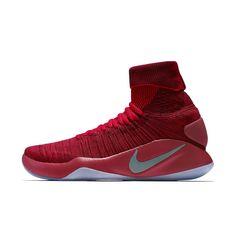Nike Hyperdunk 2016 Flyknit Men s Basketball Shoe Size 10.5 (Red) -  Clearance Sale Nike f5ba7e225
