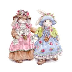 Gracious Goodheart & Shirley Goodness, Bunnies By The Bay ♥