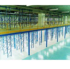 Mezzanine sur rayonnages   Plate-forme de stockage   Mezzanines de stockage, plates-formes métalliques