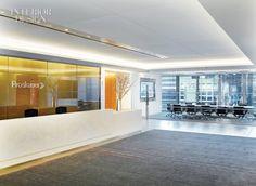Proskauer, NYC Office Reception Gensler
