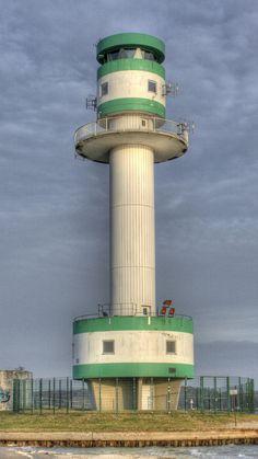 Lighthouse, Kiel, Baltic Sea, Germany- by Rossano.