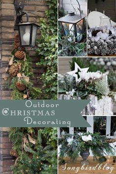 Christmas is finally here, and you know you love wandering around town gazing at all the winter wonderland Christmas decorations. This holiday season, turn your yard into one of the most lavish in the neighborhood with some yuletide cheer and a knack for Christmas decorating. For starters, you must create an inviting front door complete with a nice wreath and evergreen branches. From garden plants to centerpieces, check out eBay's guide for more outdoor decorating tips.