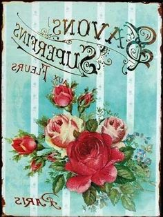 Found on: [ArtCap Posters & Post Cards] - Vintage Paris Roses printable Decoupage Vintage, Éphémères Vintage, Images Vintage, Vintage Labels, Vintage Ephemera, Vintage Pictures, Vintage Cards, Vintage Paper, Vintage Flowers