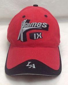 X Games LA IX 2003 Los Angeles, ESPN, Trucker Adjustable Back Hat Cap