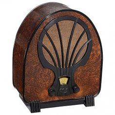 Philips Superinductance 830 A Radio, 1932 Art-Deco style.