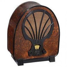 Philips Superinductance 830 A Radio, 1932 Art-Deco style.