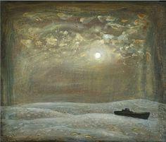 'Black Ship, Golden Moonlight' - Richard Cartwright (b. 1951)