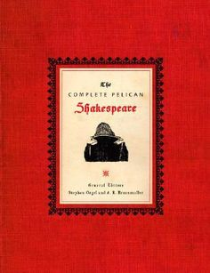 Booktopia - The Complete Pelican Shakespeare, Penguin Classics Deluxe Edition by William Shakespeare, 9780141000589. Buy this book online.