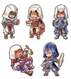 the assassins!