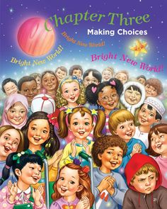 """Diverse children dream of a world of HARMONY and PEACE. Making the right choices can make it a reality. Illustration from """"Starabella: Welcome to a Bright New World."""" Purchase: http://starabella.com/buy-the-books-content/buy-the-books/"""
