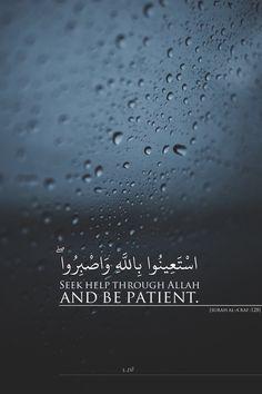 Al-A'raf verse 128 Quran Quotes Love, Quran Quotes Inspirational, Beautiful Islamic Quotes, Allah Quotes, Words Quotes, Quran Sayings, Islamic Qoutes, Islamic Messages, Muslim Quotes
