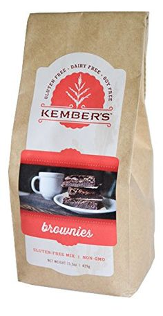 Kembers Gluten Free Brownie Mix  5 Lb package makes 5 batches * Check this awesome product by going to the link at the image.