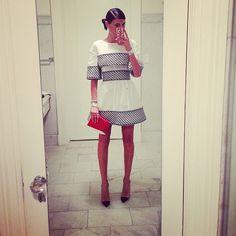 Giovanna Battaglia going to Chanel Dinner, Tribeca Film Festival