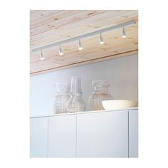 IKEA BÄVE LED ceiling track, 5-spots