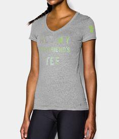 Women's UA Not My Boyfriend's Tee Tri-Blend T-Shirt   Under Armour US