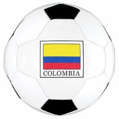 Colombia Soccer Ball - home gifts ideas decor special unique custom individual customized individualized