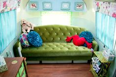 Happy Camper Counseling - Airstream Interior Design