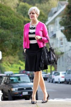 trends come and go, but true style is ageless — outfit post <positively pink> labels: skirt and...