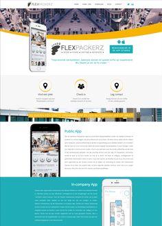Flexpackerz webdesign