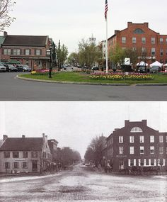pictures of gettysburg then & now - Google Search