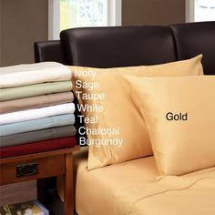 Egyptian Cotton 1200 Thread Count Solid Oversized Sheet Set | Overstock.com Shopping - Great Deals on Sheets