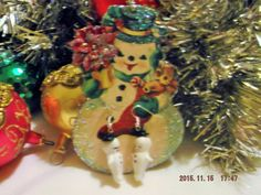 Kewpie Polymer Handmade by miabirdcreations on Etsy