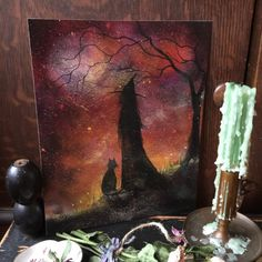 Follow me on Instagram and Facebook for my latest artwork and work in progress pics @terrifoss Listing is for one print only my personal photo props are not included. Quality detailed 8x10 glossy print of my past painting. Professionally printed on archival acid free heavy stock offering rich beautiful color. I will personally sign and date each one on the back. You may choose to frame it on your own as an 8x10 or matte and frame it to 11x14. It has been wonderful searching through my…