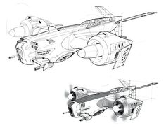Video Game Vehicles - DRAWTHROUGH: the personal and professional work of Scott Robertson: