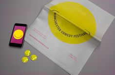 2010 Comedy Festival Branding & Print.