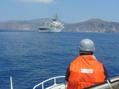 Campagna Idrografica 2013, il Dipartimento di Scienze Biologiche ed Ambientali su nave Magnaghi | BLU