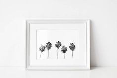 Palm Tree Print/ Beach Print/ Tropical Print/ Digital Download