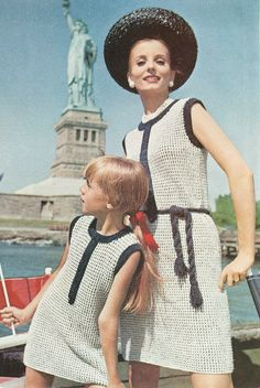 1960s Mother and Daughter Fashion