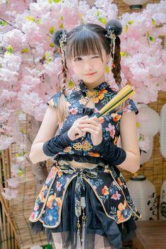 Cute Dresses, Flower Girl Dresses, Anime Japan, Anime Life, Cute Asian Girls, Anime Artwork, Cosplay Girls, Kawaii Anime, Cute Art