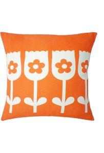 tulip cushion by Clare Nicolson