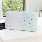 Found it at Wayfair - Cool Sleep Ventilated Gusseted Gel Memory Foam Pillow