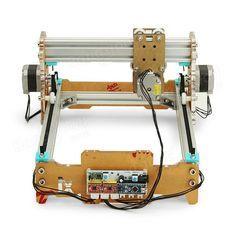 Desktop DIY Laser Engraver Cutter Engraving Machine Assemble Kit 17X20cm Sale - Banggood Mobile