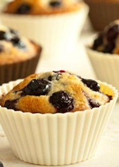 Cupcakes de mirtilos
