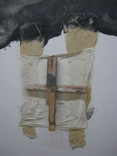 ' Les jambes ' by Antoni Tapies Tachisme, Mixed Media Collage, Collage Art, Abstract Painters, Abstract Art, Art Espagnole, Modern Art, Contemporary Art, Art Informel