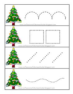 Christmas Puzzle, Christmas Canvas, Toddler Christmas, Christmas Art, Christmas Themes, Preschool Christmas Activities, Christmas Worksheets, Kids Learning Activities, Preschool Art