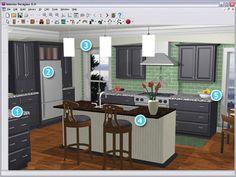 28 best interactive kitchen design images on pinterest kitchens rh pinterest com interactive kitchen design software