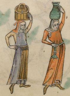 Luttrel Psalter 1325-1340, fragment