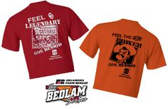 Feel the Spirit! GIVE BLOOD!  Monday, October 21, 2013 9am-1pm in the MPC Donors will receive their choice of Bedlam Shirt & a chance to win a pair of 2013 Bedlam Football Tickets! Limited on time? Make your appointment today!  https://www.yourbloodinstitute.org/donor/schedules/drive_schedule/145867