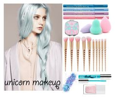 """""""Rainbow"""" by yendry-mariela-garcia-perez ❤ liked on Polyvore featuring beauty, The Hand & Foot Spa, Too Faced Cosmetics, Forever 21, PurMinerals and In Your Dreams"""