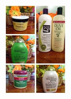 Deep conditioners for relaxed hair