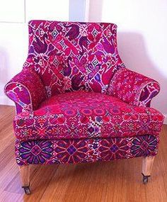 Folk Project Home Decor & Accessories | Fernanda Bohemian Chic Chair www.folk-project.com