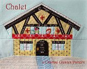 Chalet Paper Pieced Pattern