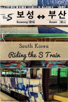 Travel Korea via the S Train!