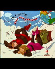 Unha viaxe polo mundo [Gravación sonora] / As maimiñas ; ilustracións Patricia Castelao (2014)